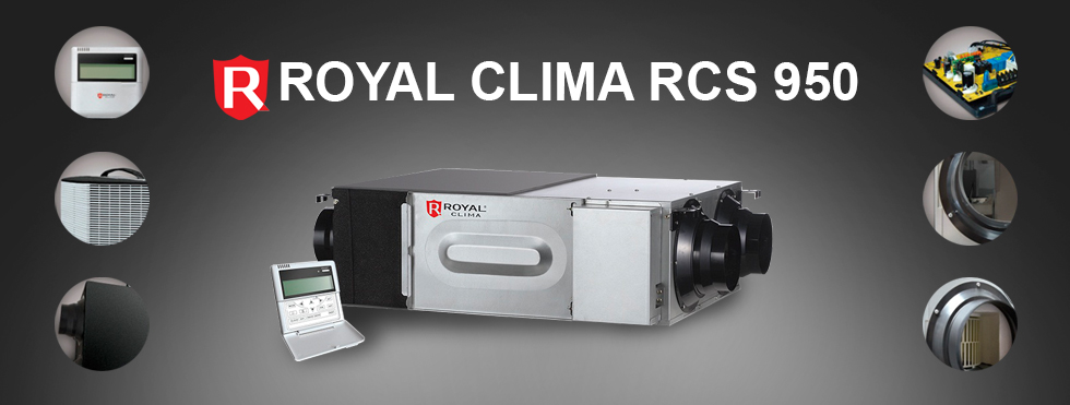 ROYAL CLIMA RCS 950